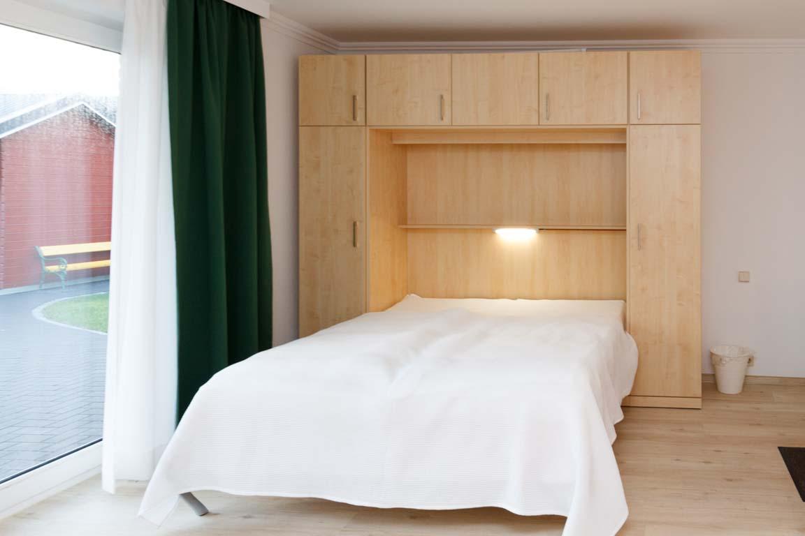 Schlafbereich - Schrankbett
